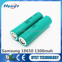 samsung inr18650-13q 1300mah sdi 18650 1300mah battery cell rechargeable battery