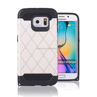 Low price china mobile phone rugged pc tpu hybrid for samsung galaxy s6 edge cell phone case wholesale alibaba