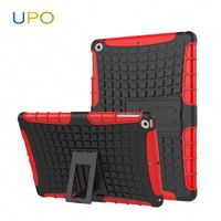 [UPO] For iPad 2/3/4 Case, Shockproof Tire Pattern Kickstand Hybrid Combo tablet case for iPad mini/Pro