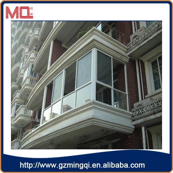 Guangzhou factory american window grill design pvc sliding for American window design