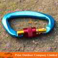 Supper Light rock climbing carabiner 61g Aluminum 7075 Load 25KN IN STOCK