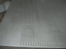 Micro Perforation punched metal wire mesh net plate plank board china factory (china manufacture)