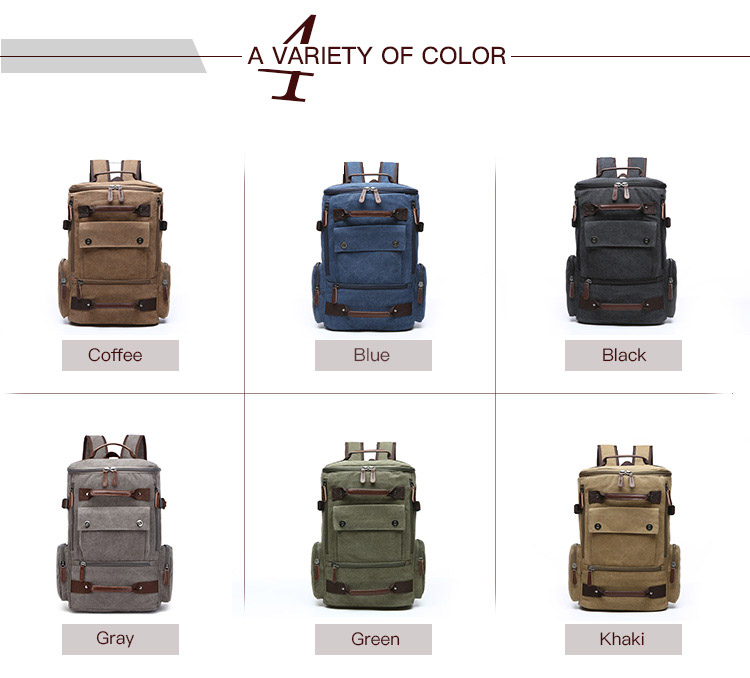 레저 khaki canvas backpack 빈티지 canvas backpack traveling (high) 저 (용량 · 발랄 backpack 책가방