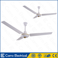 Energy saving 56inch AC/DC ceiling fans solar dc brushless fan 12V