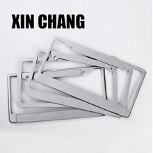 High quality metal zinc alloy decoration license plate frame