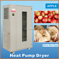 Hot air cycle small fruit/apple drying oven/mango processing drying machine