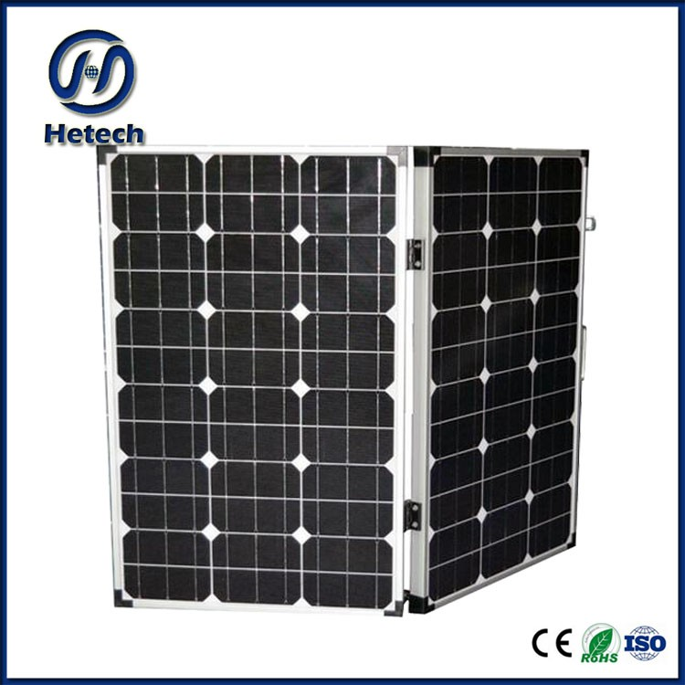 portable box mono crystalline 100W 160W folding solar panel