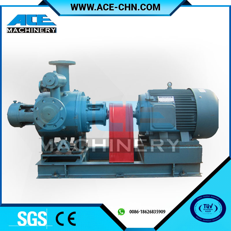 Sanitary Stainless Steel Screw Pump For Ketchup, Chocolate, Food