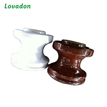 American Standard 53 Series Porcelain Reel Spool Insulator / Ceramic Spool Insulator