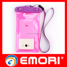 Customized Pass IPX8 test cell phone waterproof plastic bag