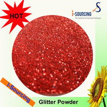 Hot sale solvent proof acrylic glitter powder factory sale