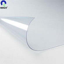 Color high transparent film reach standard pvc super clear plastic thick roll