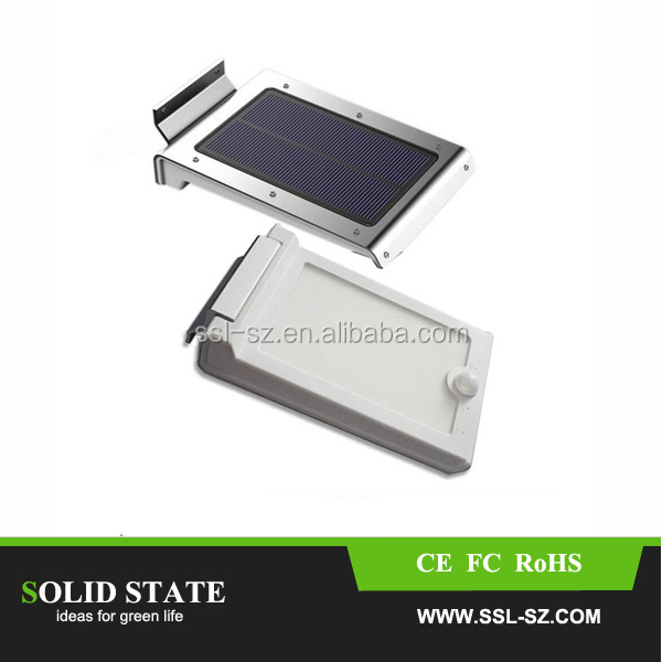 China Solar Energy Powered Outside Led Motion Sensor Lighting