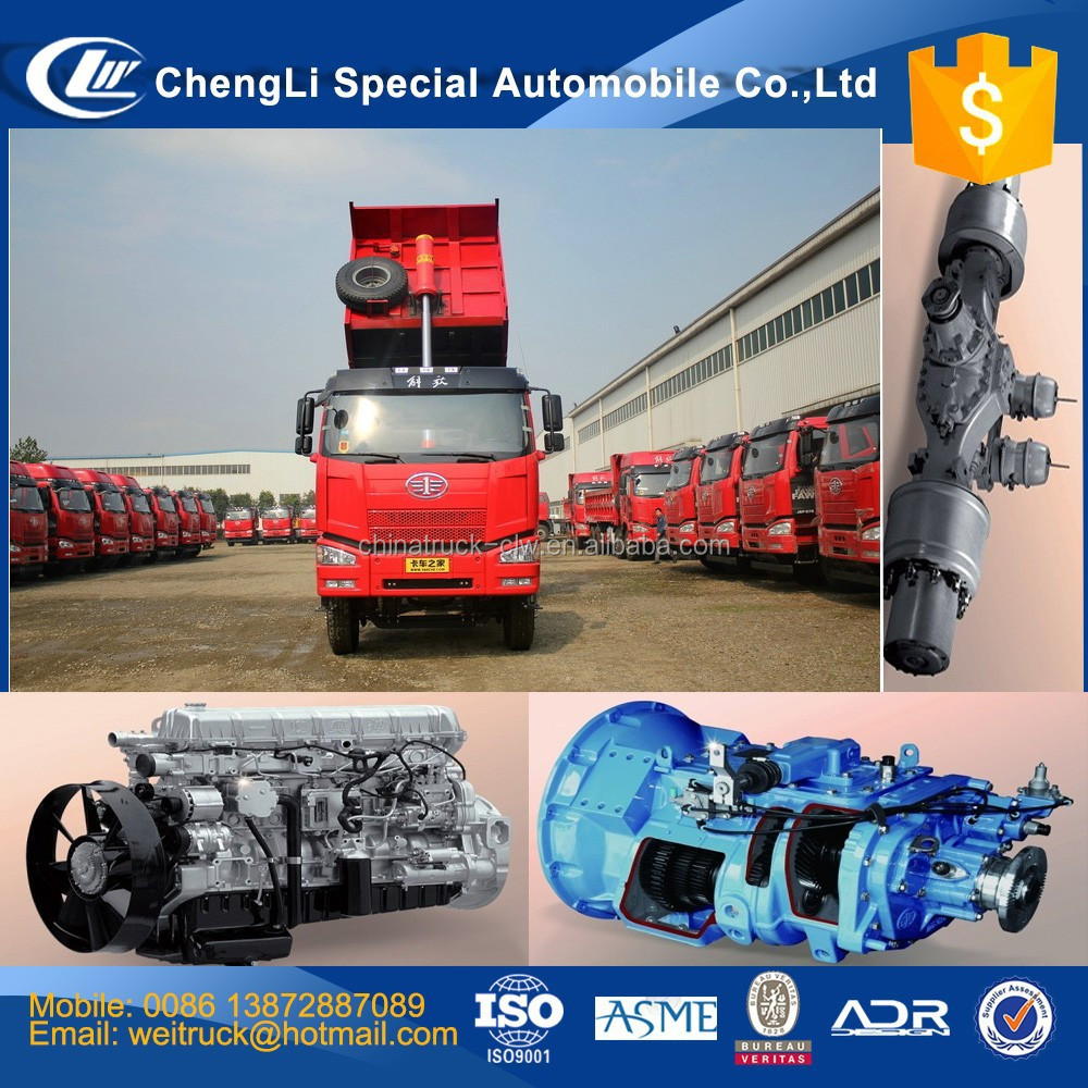 Competitive advantage faw tipper truck 350hp 6x4 20 ton 25 ton 30 ton 35 ton 40 ton 50 ton faw dump truck for hot sale