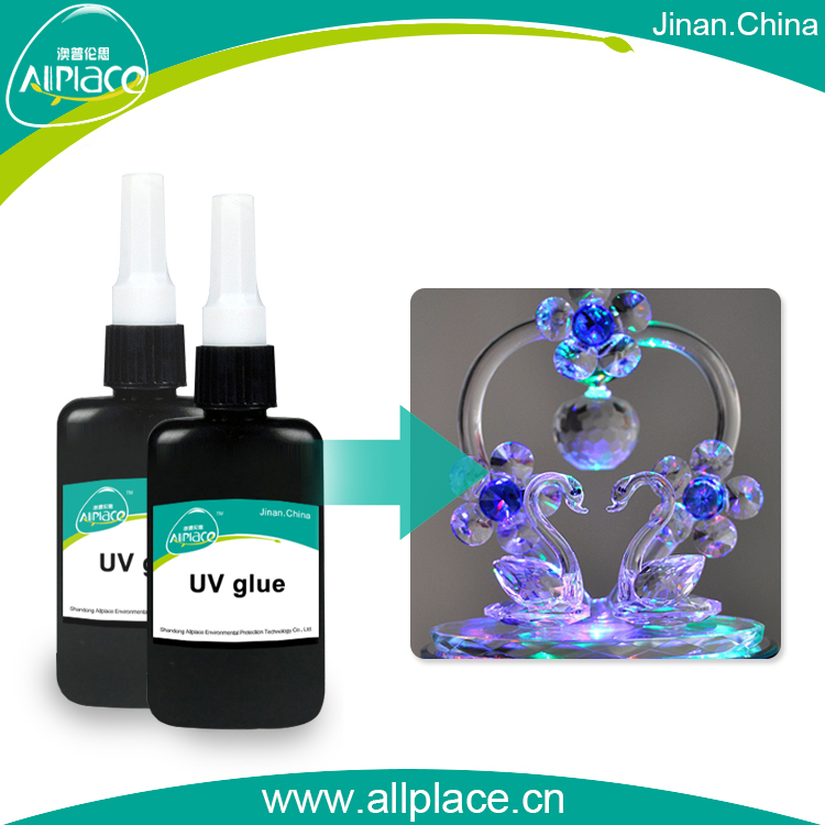 UV Activated Adhesive for Crystal UV Curing craft Glue Acrylic UV glue