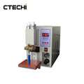 Test machine and welding machine for battery
