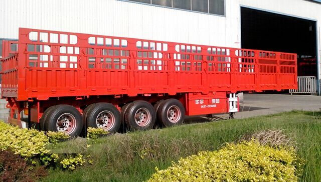 CIMC 60 ton 3 Axles Cargo Semi Trailer With CCC and ISO