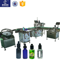 Multifunctional E Liquid plastic Bottle 10ml Filling Machines 2 heads filling machine