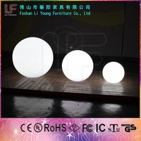 Rechargeable LED Plastic Ball LED Garden RGB Ball LED Lighting Decoration with 2 Years Warranty