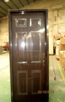 American Steel Iron Doors for Nigeria