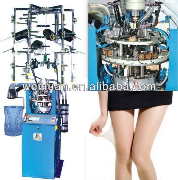 silk socks knitting machine 4 inch full automatic plain wh 12