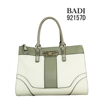 famous brand fashion tote bag,metal lock bag