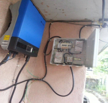 House Use PV System Solar 2kw Grid Tie Inverter