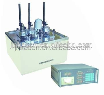 XWB-300A Digital Display Plastic Vicat Softening Point Device / industrial plastic melting machines