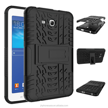 Rugged dual layers anti drop tablet case for Galaxy Tab 4 lite T116 7inch case tablet