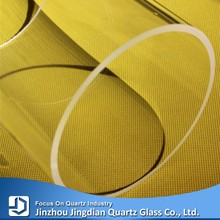 JD Large Diameter Heat Resistant Quartz Glass Tube