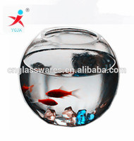 Beautiful round borosilicate glass fish tank, aquarium fish tank