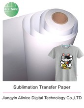 Wholesale A4 Rolls Dark Sublimation Transfer Paper Hot Selling T- Shirt Printing Inkjet High Glossy Heat Transfer Paper
