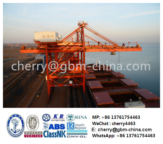 GBM port grab bucket grab ship unloader bridge ship unloader crane