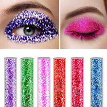 Private Label Oem Custom Logo 10 Colors Long Lasting Waterproof Makeup Eye liner Sparkling Eyeliner Liquid Glitter Eyeliner
