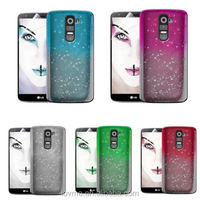 3D RAIN DROP PC HARD CASE COVER For LG G2 + Screen Protector