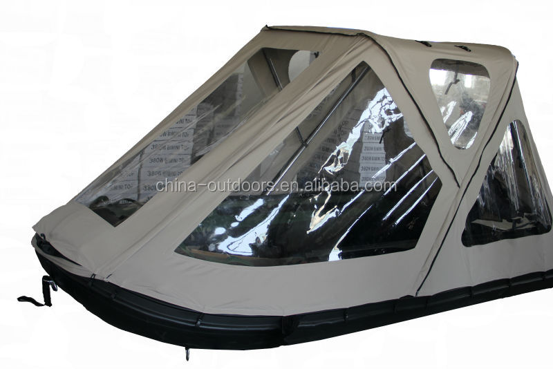 inflatable boat bimini tent