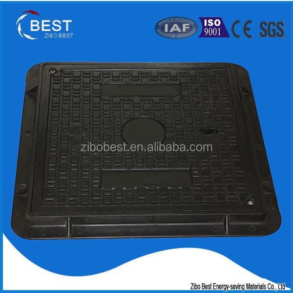 EN124 electric meter box Square / round walkway manhole cover made in china