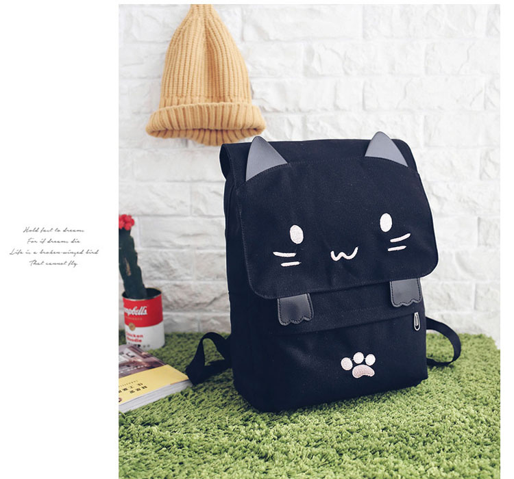 Cute cat ears casual travel backpack