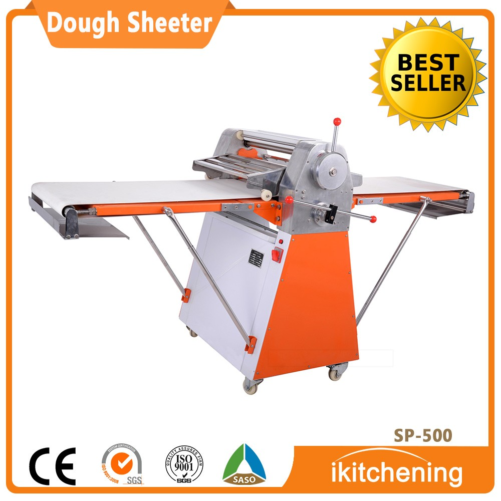 Bakery Equipment Reversible Dough sheeter machine, pizza dough roller, puff pastry dough machine