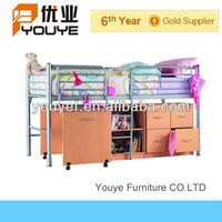 Home Furniture Metal Single Beds