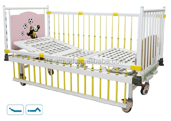 Linak korean style double crank Pediatric Hospital Bed for child