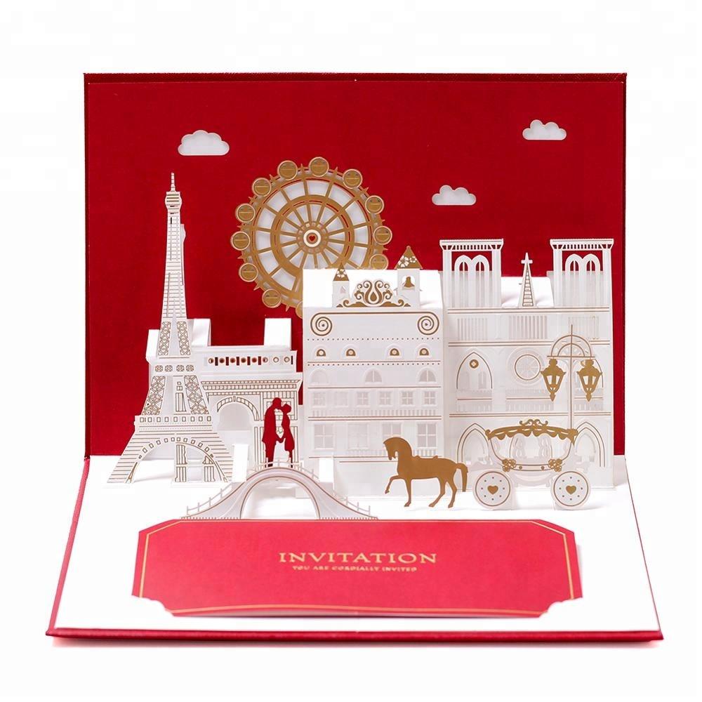 China Wedding Invitation Cards With Envelope, China Wedding ...