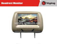 China Supplier Car Accessories 7 inch Taxi/Car LCD Advertising Headrest Monitor(XM779)