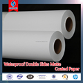 High Quality Waterproof Double Sides Matte PP Paper 210um