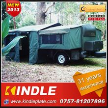 Kindle Professional camping trailer motorcycle Manufacturer with 31 Years Experience