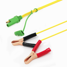 customize mini alligator clips 1m 1.2m 1.5m 1.8m 2m 3m insulated crocodile clips