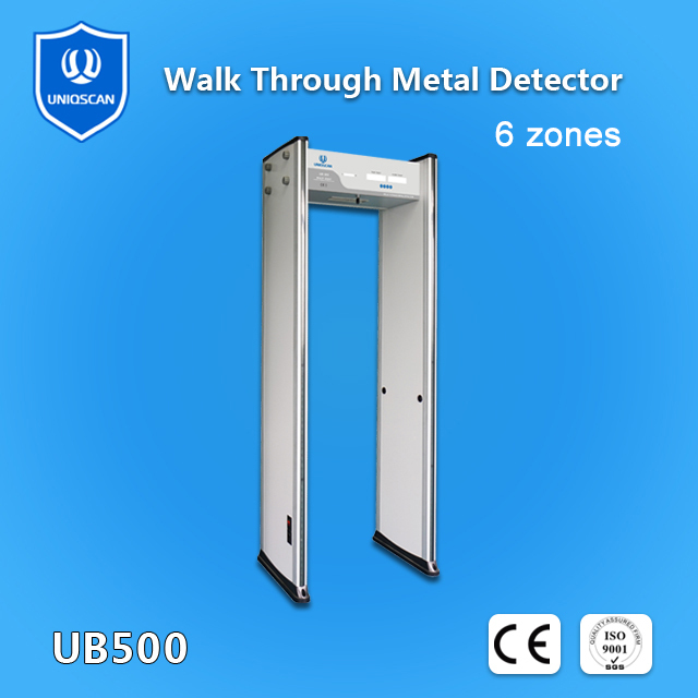 18 Zone Door Frame Metal Detector Walk through For Hotel Security System