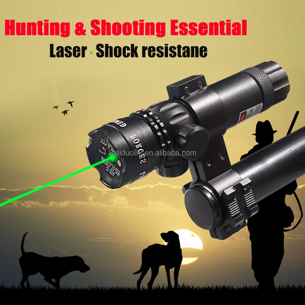 Laser Sight for hunting Rifle Pistol Shot green Dot laser pointer