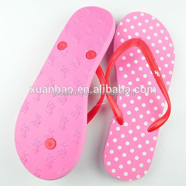 Guangdong New design popular pvc strap flip flops made in china