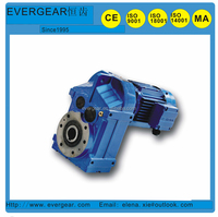 parallel shaft output gear box with ac motor , transmission machine ,geared motor speed reducer